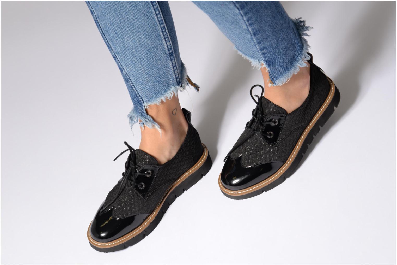 Chaussures à lacets Armistice Fox derby palace Noir vue bas / vue portée sac