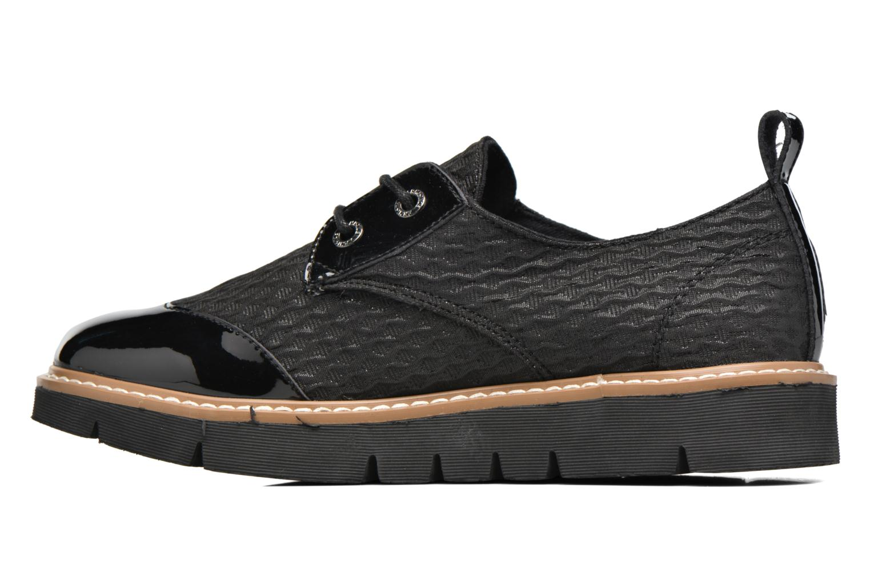 Chaussures à lacets Armistice Fox derby palace Noir vue face