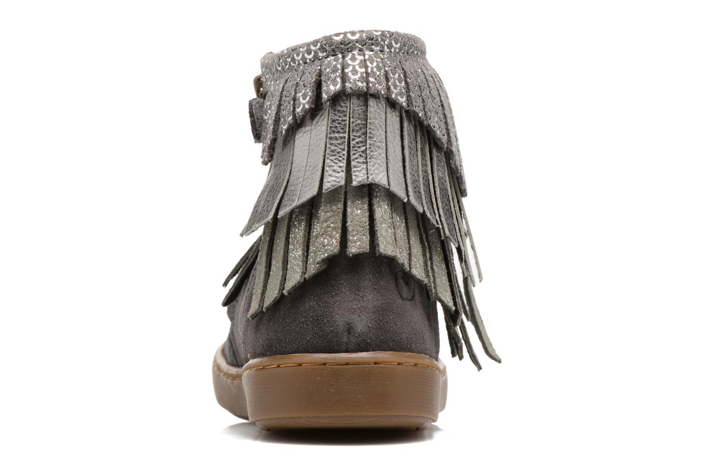 Bottines et boots Shoo Pom Play Huron Gris vue droite