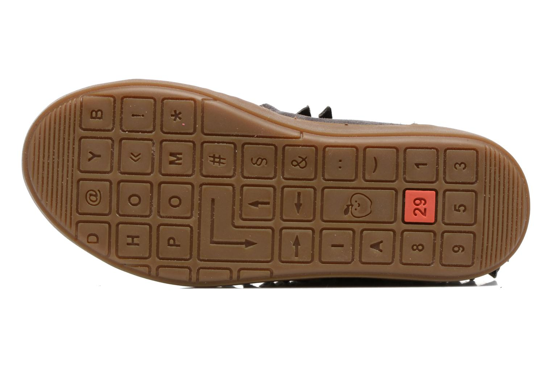 Bottines et boots Shoo Pom Play Huron Gris vue haut