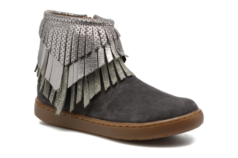 Bottines et boots Shoo Pom Play Huron Gris vue détail/paire