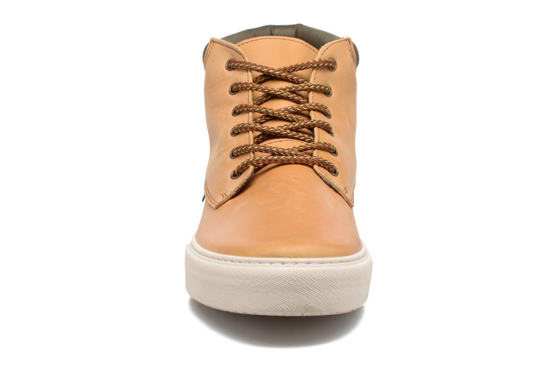 Baskets Victoria Bota Piel Cuello 2 Marron vue portées chaussures
