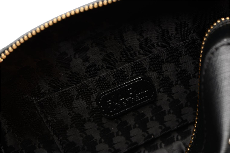 Sacs à main Karl Lagerfeld Paris Camera Bag Noir vue derrière