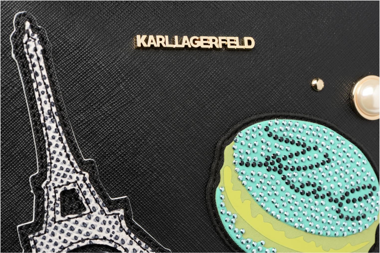 Sacs à main Karl Lagerfeld Paris Camera Bag Noir vue gauche