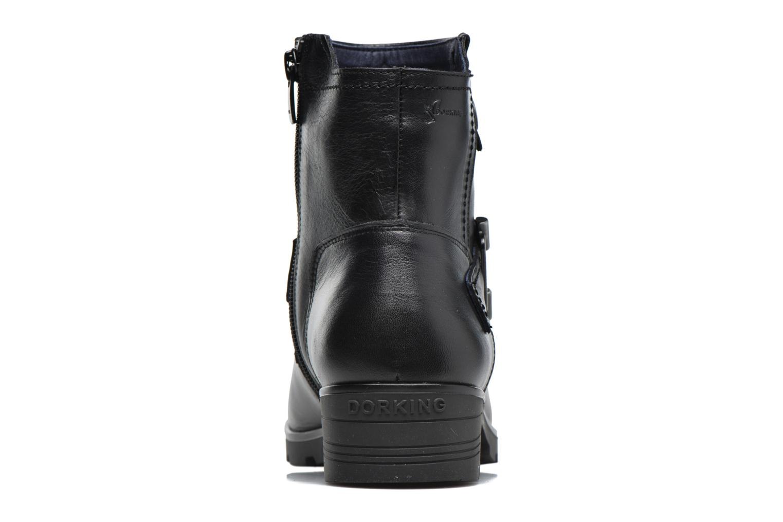 Bottines et boots Dorking Nala 7189 Noir vue droite