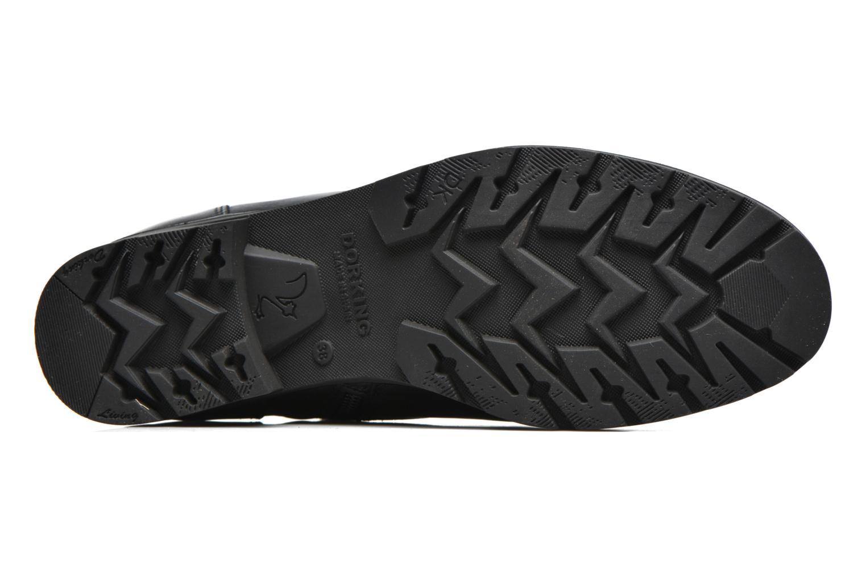 Bottines et boots Dorking Nala 7189 Noir vue haut