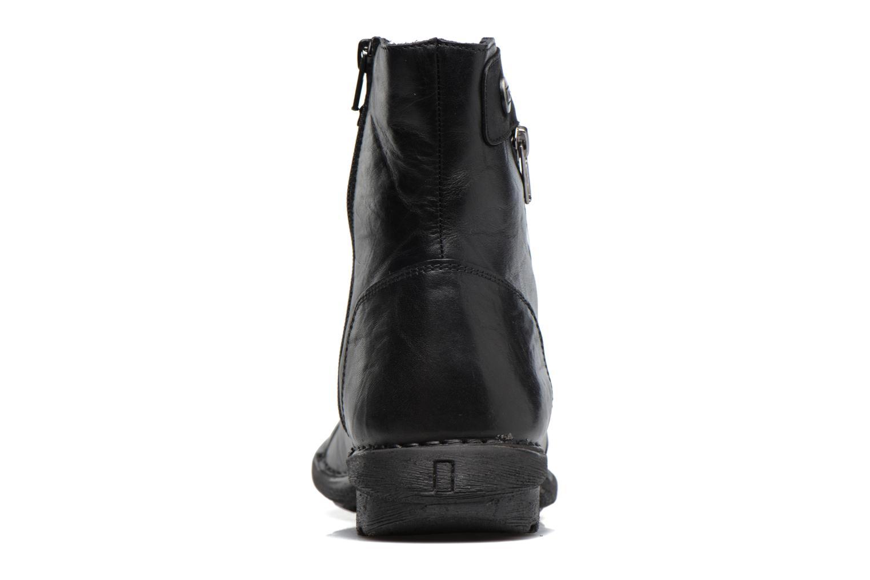 Bottines et boots Dorking Medina 7268 Noir vue droite