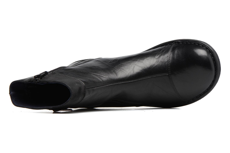 Bottines et boots Dorking Medina 7268 Noir vue gauche