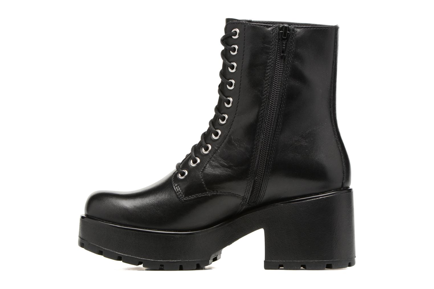 Bottines et boots Vagabond Dioon 4447-001 Noir vue face