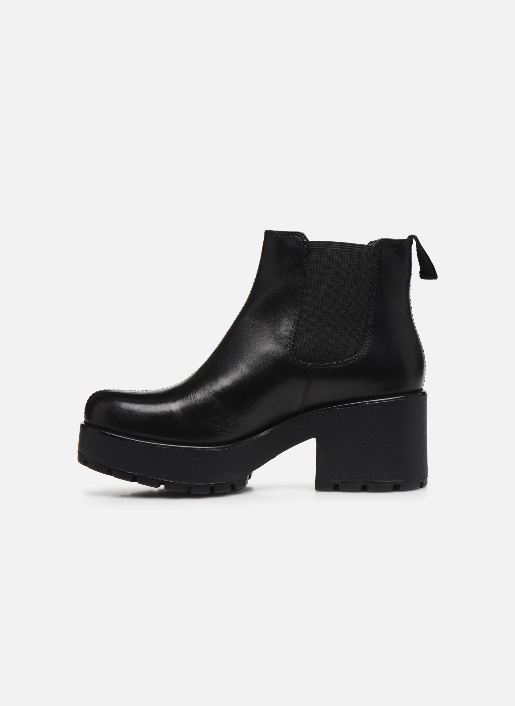 Bottines et boots Vagabond Dioon 4247-201 Noir vue face