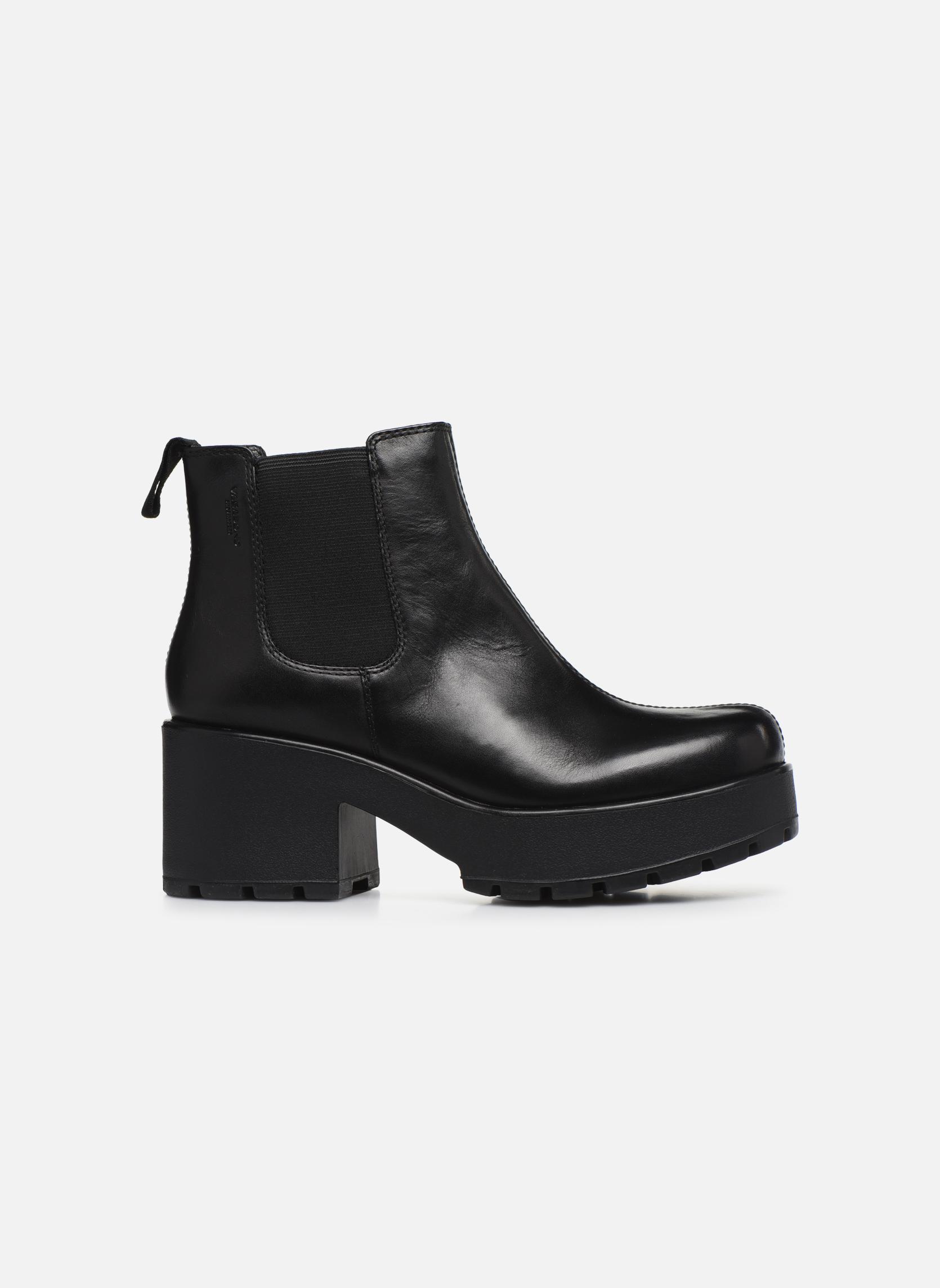 Bottines et boots Vagabond Dioon 4247-201 Noir vue derrière