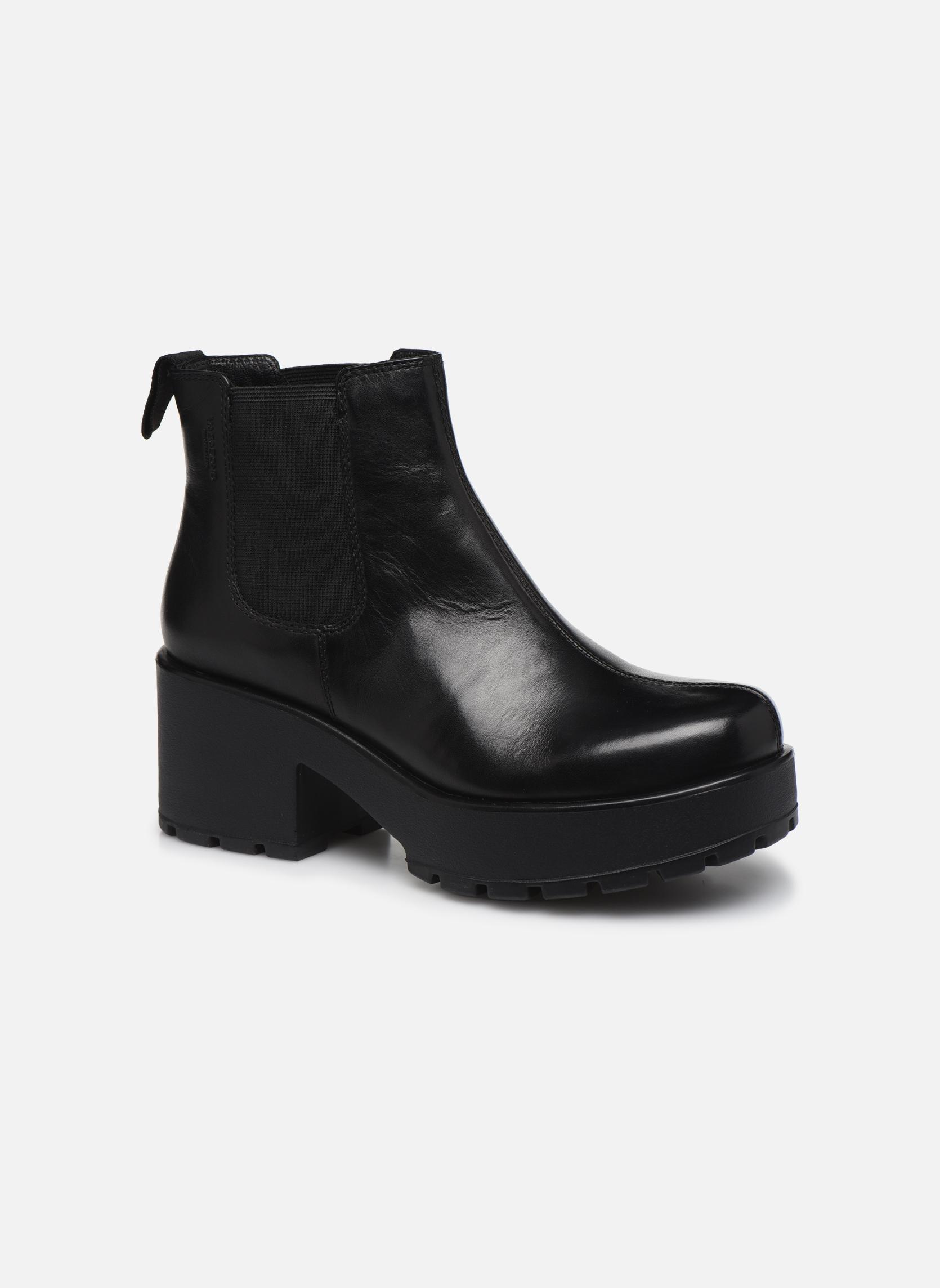 Bottines et boots Vagabond Dioon 4247-201 Noir vue détail/paire