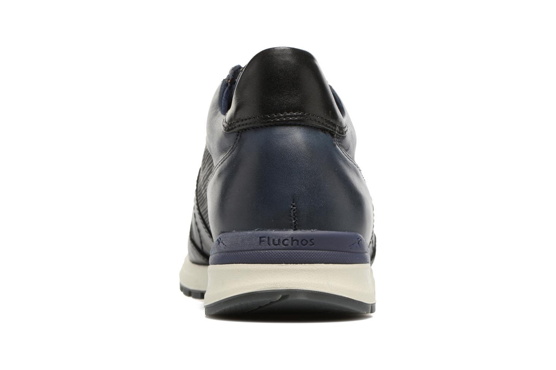 Baskets Fluchos Erik 9813 Noir vue droite