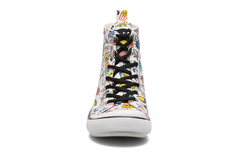 Baskets Rocket Dog Rainy Blanc vue portées chaussures