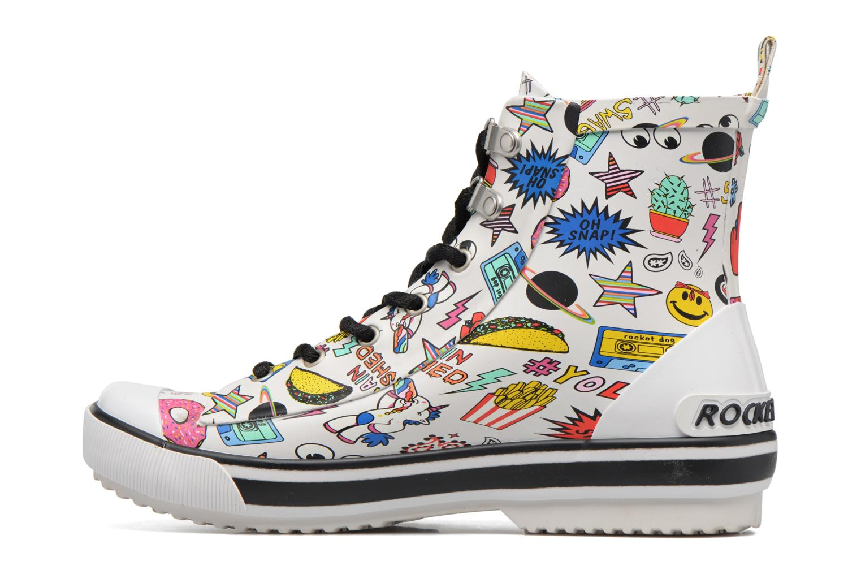 Sneakers Rocket Dog Rainy Bianco immagine frontale