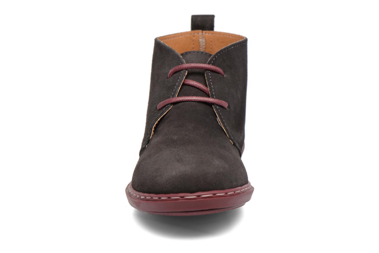 Chaussures à lacets Conguitos Lila Gris vue portées chaussures
