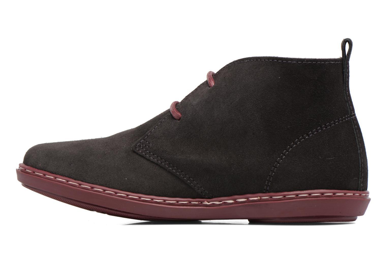Chaussures à lacets Conguitos Lila Gris vue face