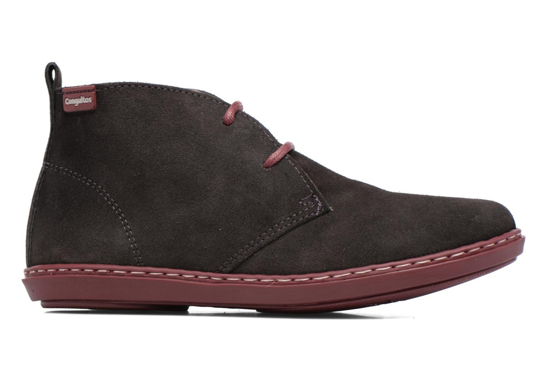 Chaussures à lacets Conguitos Lila Gris vue derrière