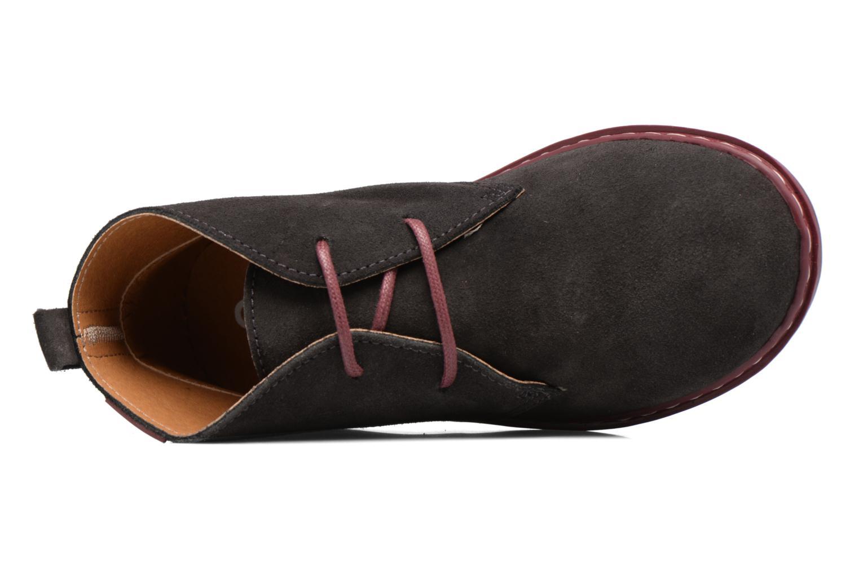 Chaussures à lacets Conguitos Lila Gris vue gauche