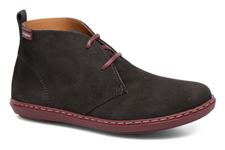 Chaussures à lacets Conguitos Lila Gris vue détail/paire