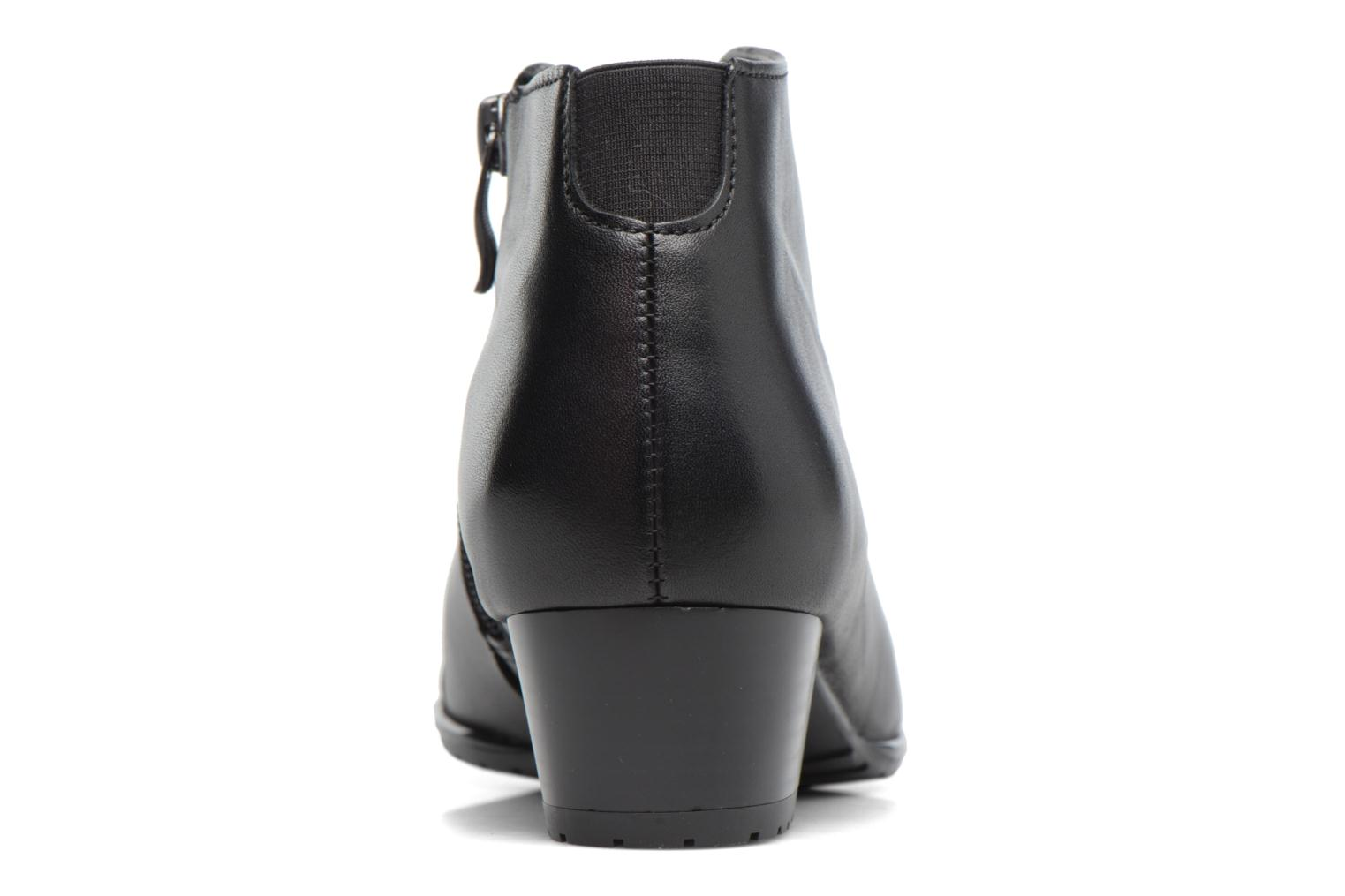 Ankle boots Ara Padua Tron 42110 Black view from the right