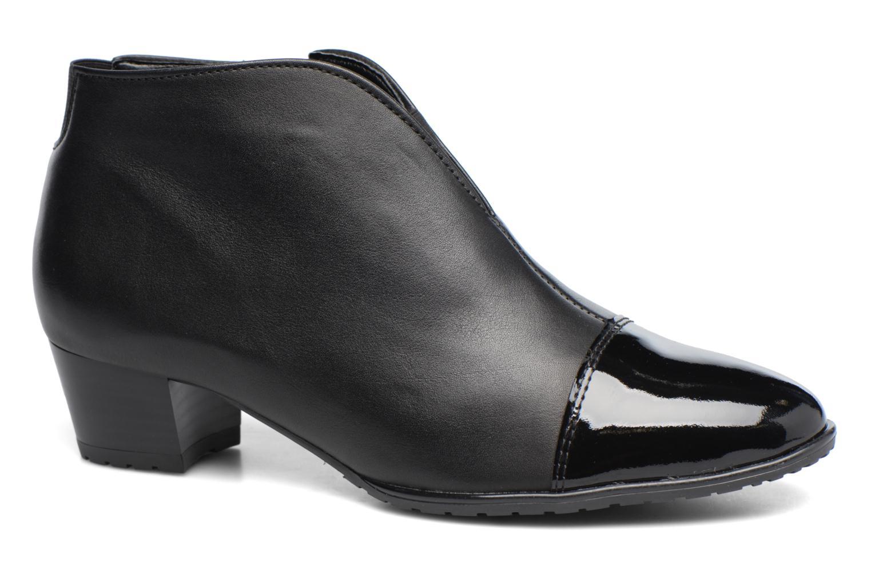 Ankle boots Ara Padua Tron 42110 Black detailed view/ Pair view