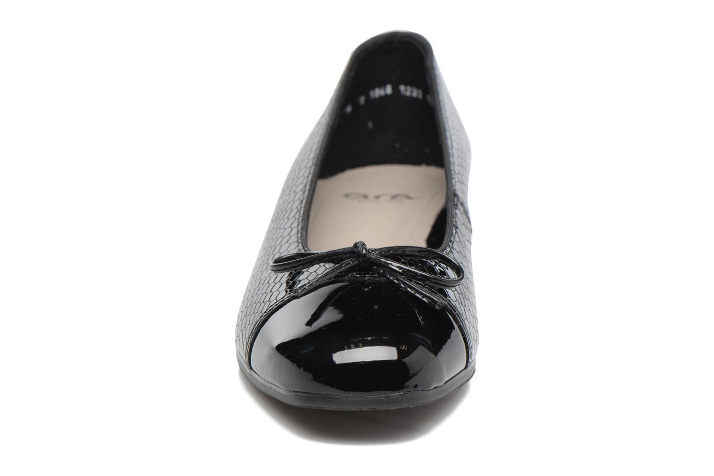 Bailarinas Ara Bari 43708 Negro vista del modelo