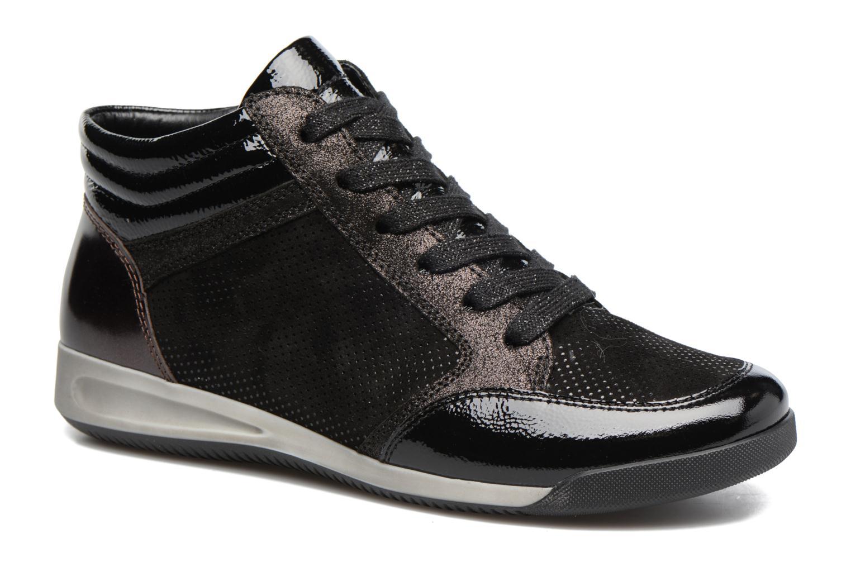 Baskets Ara Rom Stf 44465 Noir vue détail/paire