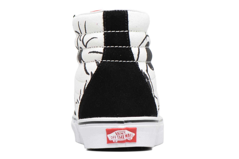 Baskets Vans Sk8-Hi Reissue x Peanuts Noir vue droite