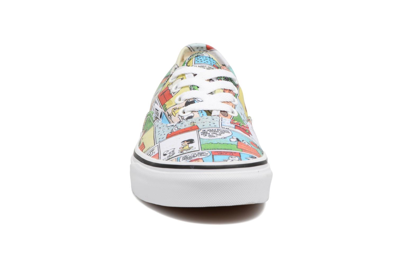 Baskets Vans Authentic w x Peanuts Multicolore vue portées chaussures