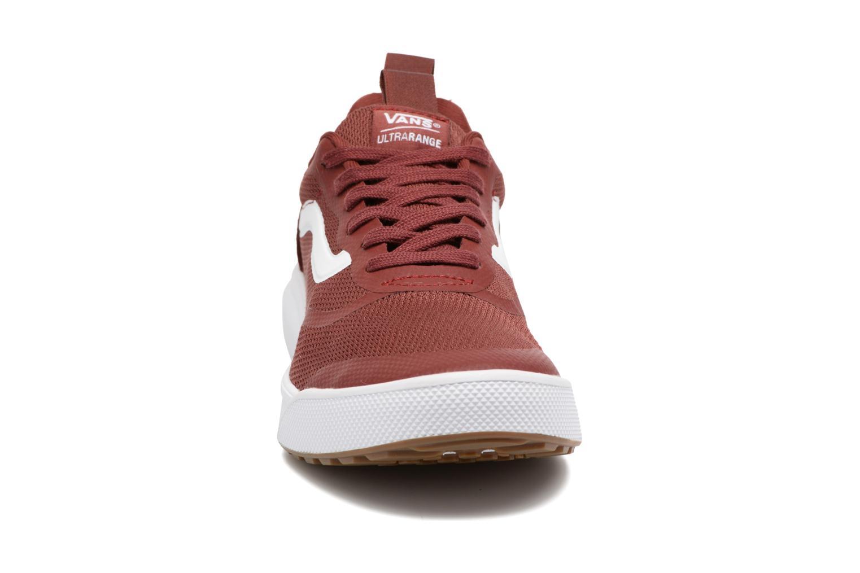 Baskets Vans UltraRange Rapidweld Rouge vue portées chaussures