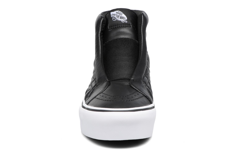 Baskets Vans Old Skool Laceless Platform x Karl Lagerfeld Noir vue portées chaussures