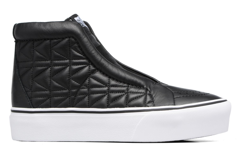 Baskets Vans Old Skool Laceless Platform x Karl Lagerfeld Noir vue derrière