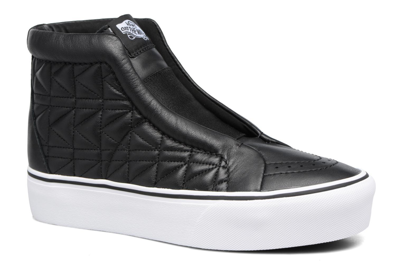 Baskets Vans Old Skool Laceless Platform x Karl Lagerfeld Noir vue détail/paire