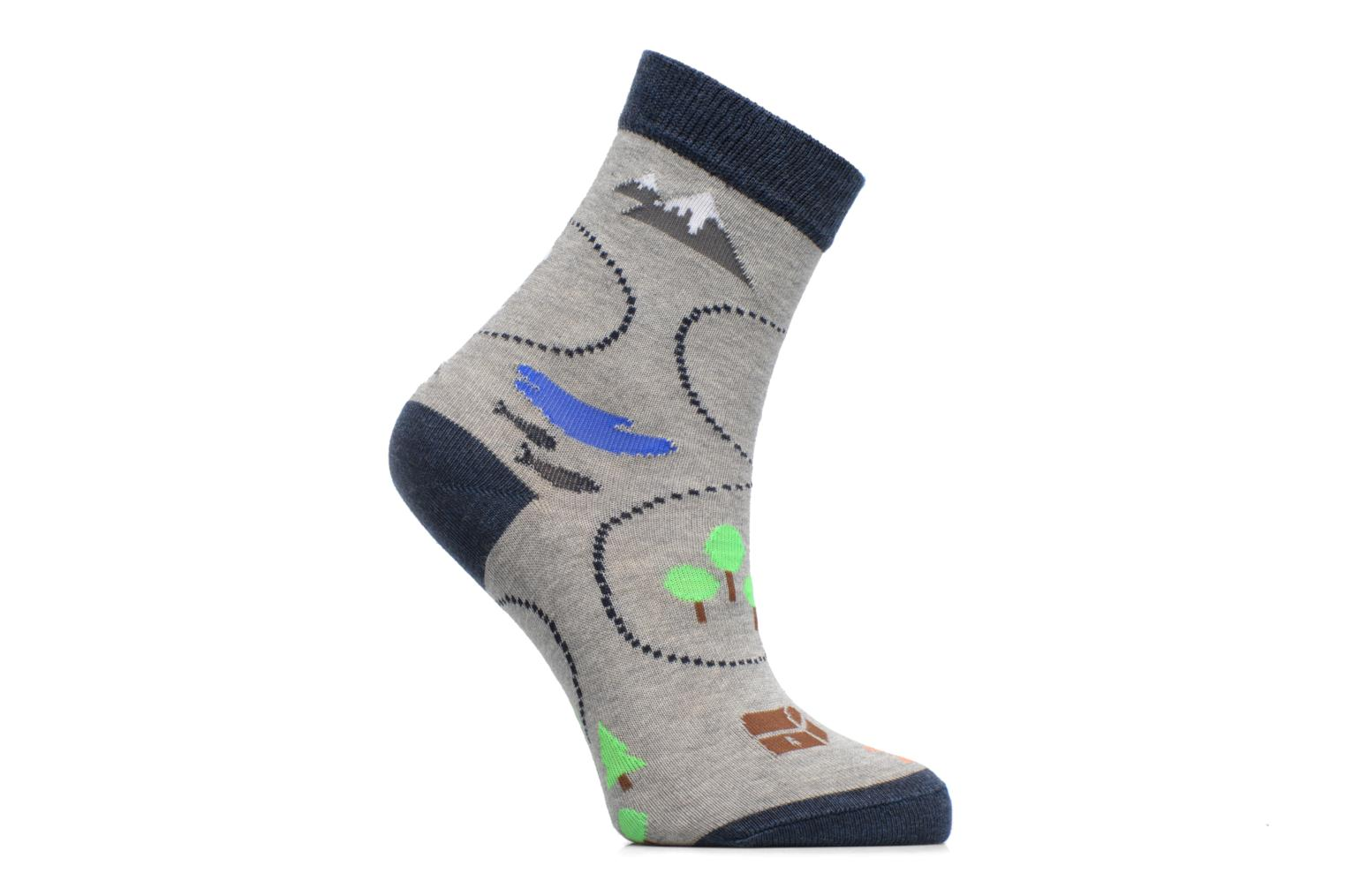 Chaussettes Treasure Map 3400 Light grey