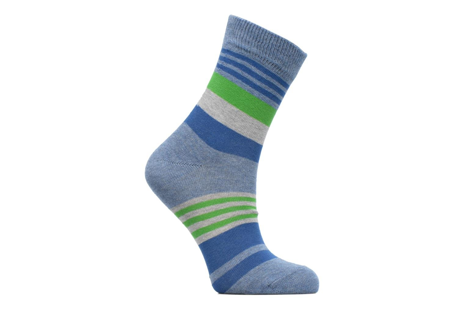 Chaussettes Irregular Stripe 6660 Light denim