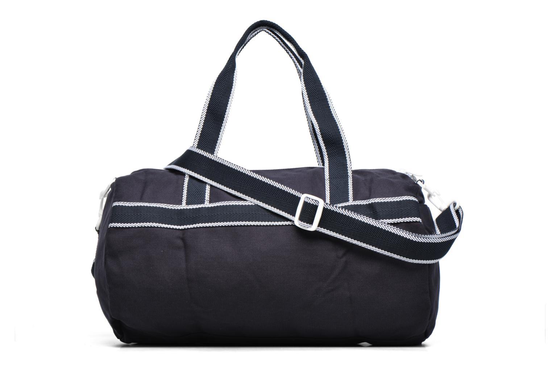 Sporttassen Fred Perry Sport Canvas Barrel Bag Blauw voorkant