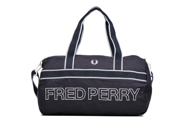Sporttassen Fred Perry Sport Canvas Barrel Bag Blauw detail