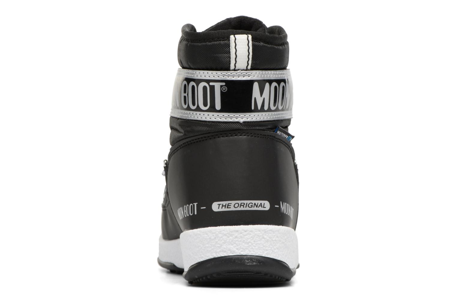 Sport shoes Moon Boot Moon Boot Mid Jr Wp Black view from the right