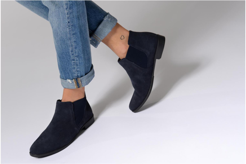 Bottines et boots Tamaris Celeanar Bleu vue bas / vue portée sac