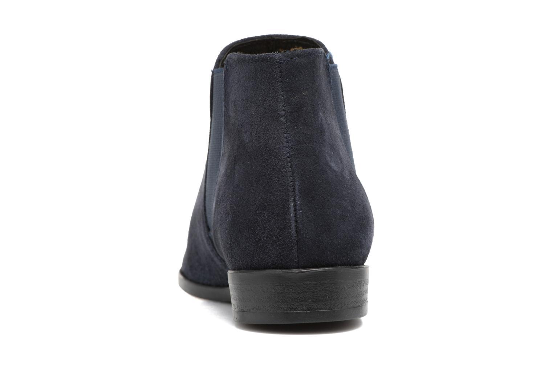 Bottines et boots Tamaris Celeanar Bleu vue droite
