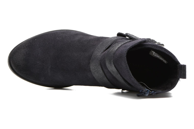 Boots en enkellaarsjes Tamaris Daenara Blauw links
