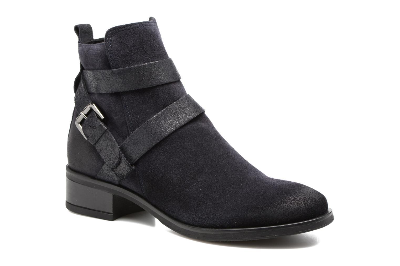 Boots en enkellaarsjes Tamaris Daenara Blauw detail