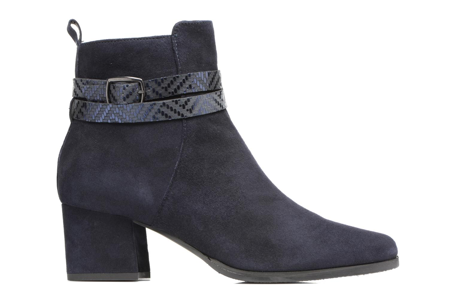 Ankle boots Tamaris Diningal Blue back view