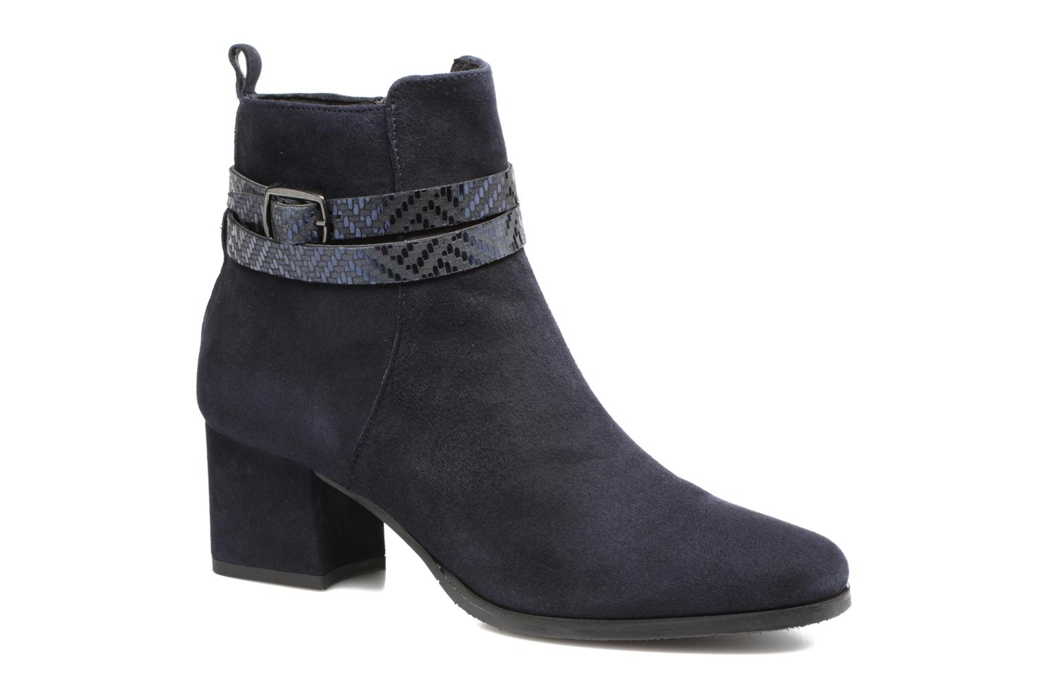 Ankle boots Tamaris Diningal Blue detailed view/ Pair view