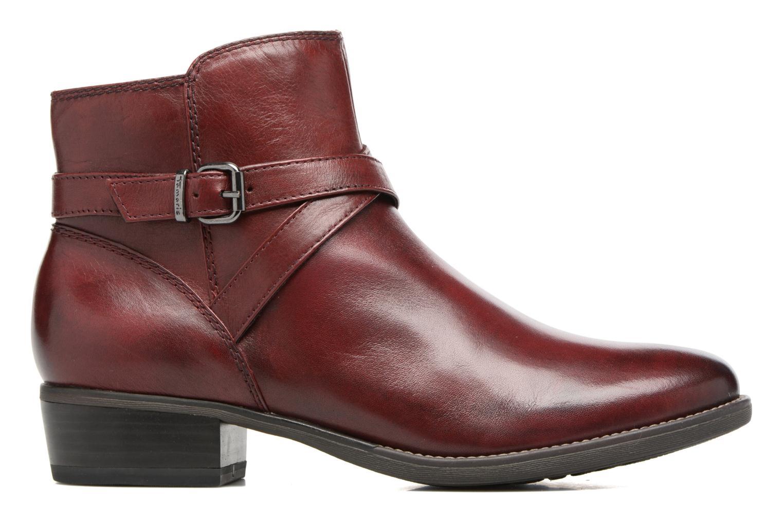 Bottines et boots Tamaris Elbereth Bordeaux vue derrière