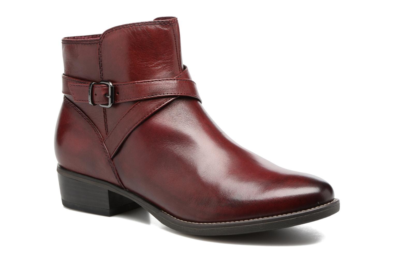 Bottines et boots Tamaris Elbereth Bordeaux vue détail/paire