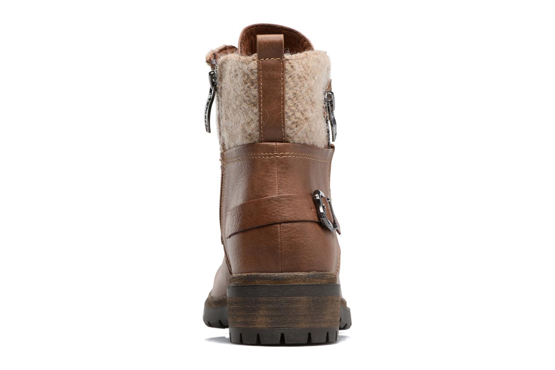 Bottines et boots Tamaris Elessar Marron vue droite