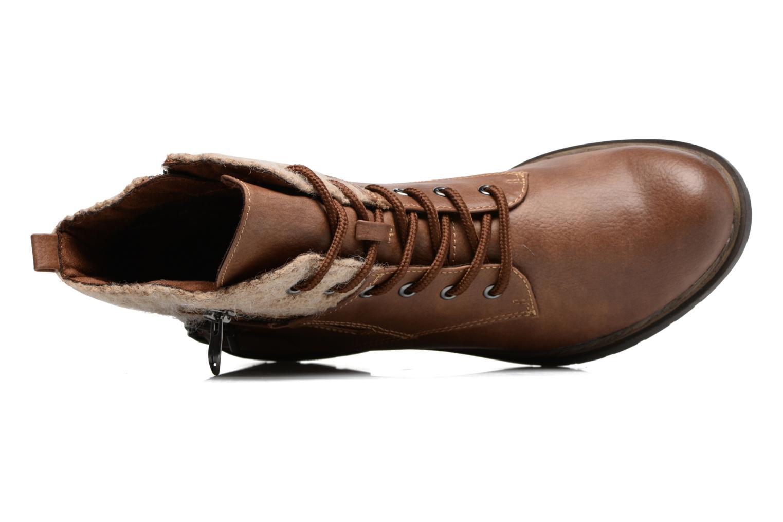 Bottines et boots Tamaris Elessar Marron vue gauche