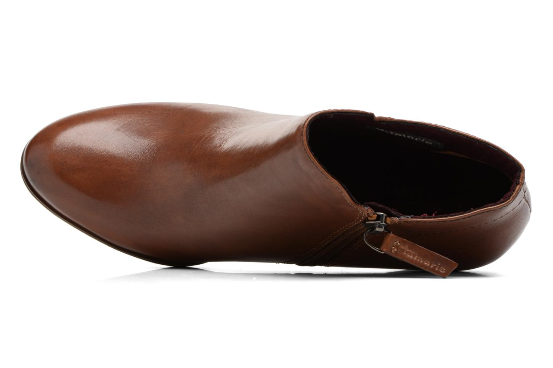 Bottines et boots Tamaris Imarune Marron vue gauche
